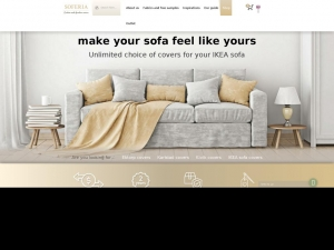 Top quality covers for couches by Soferia